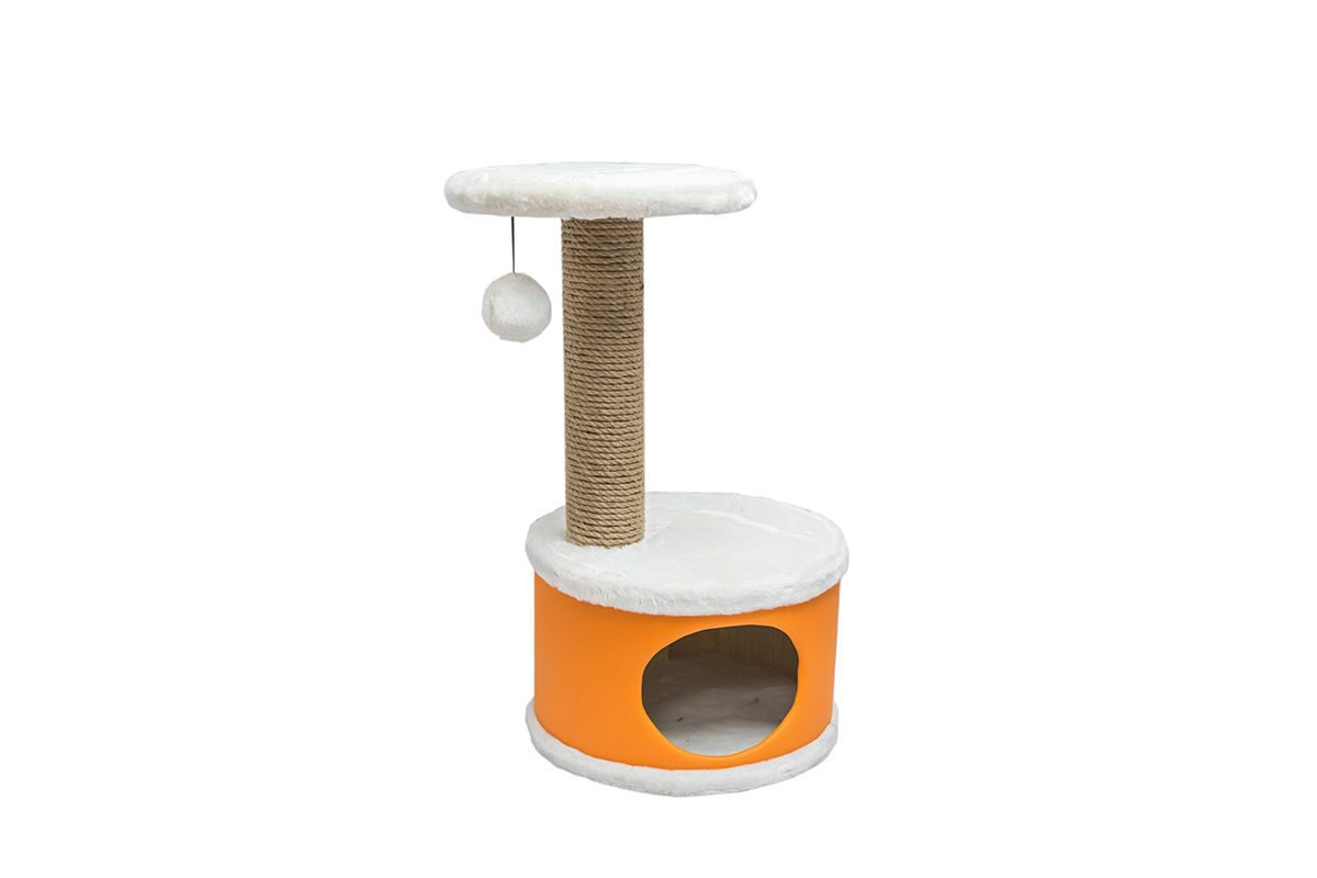 Домики-когтеточки для кошек своими руками 54